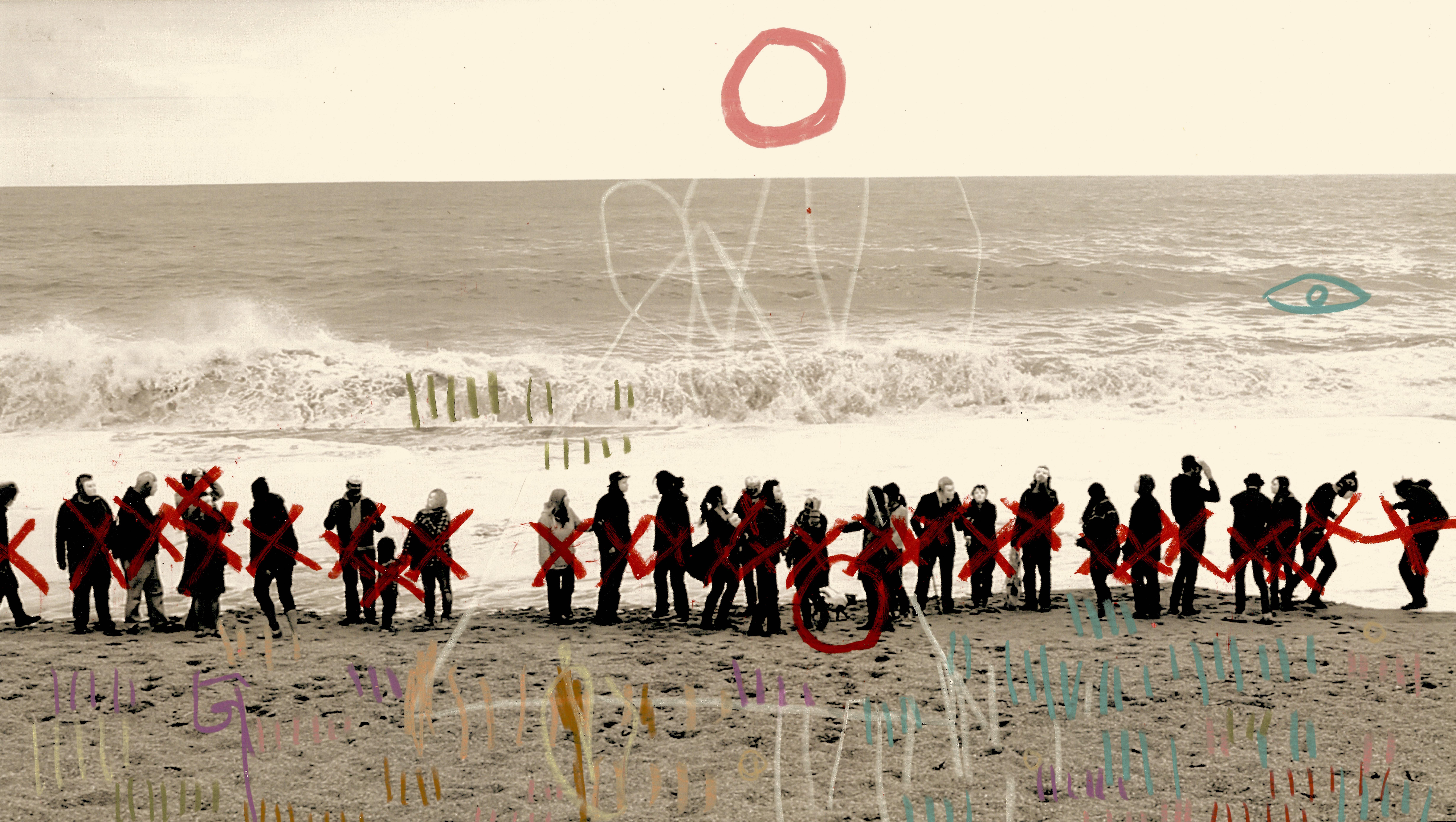 GrisdeLin  - Beach Crowd