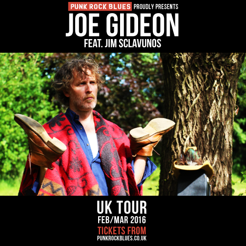 Joe Gideon Tour Poster